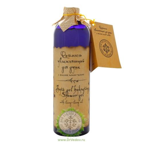 Фитогель увлажняющий для душа с маслом иланг-иланга 500 мл