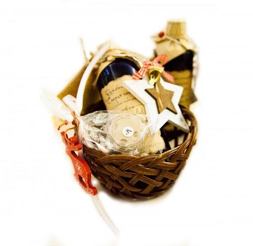 Малая корзина с подарками