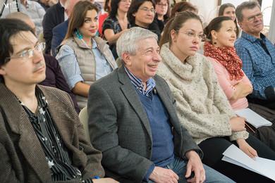 Слушатели семинара Айды Орбито