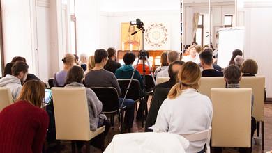 Юрий Владимирович Ведов дал нам практику медитации, на понимание и осознание собственного предназначения.