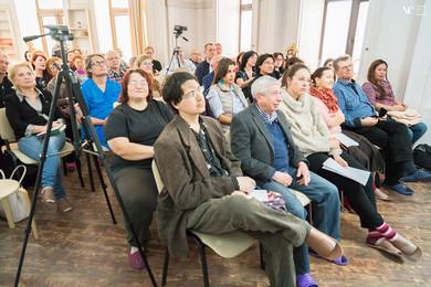 Слушатели семинара по хилерству