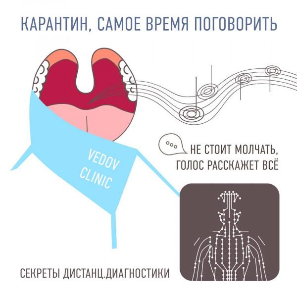 Диагностика здоровья по голосу и не только у доктора Ведова