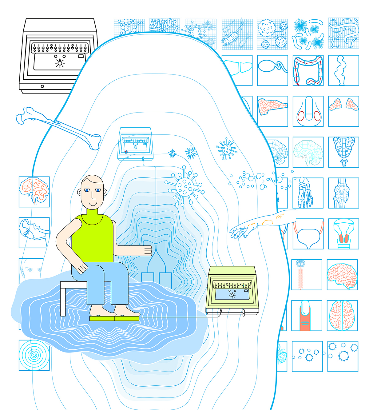 Биорезонансная терапия и аппаратное лечение