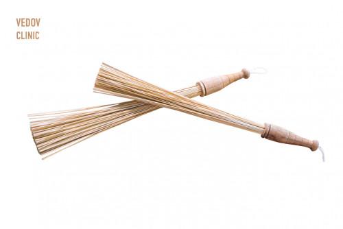 Массаж бамбуковыми вениками Москва