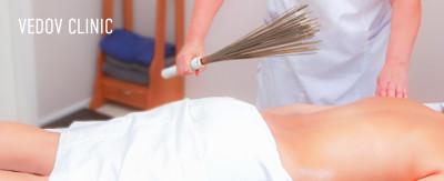 Даосский массаж вениками в клинике доктора Ведова