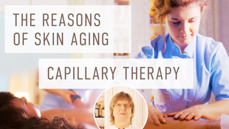 Causes of skin aging. Capillary therapy. How to keep youthful skin. Dr. Vedov