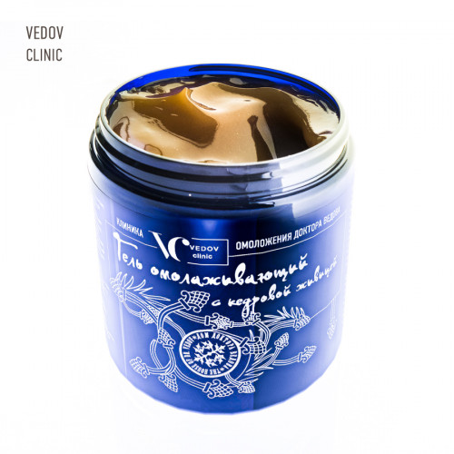 CEDAR TURPENTINE REJUVENATING GEL of Vedov