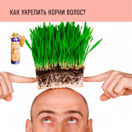 укрепить корни волос
