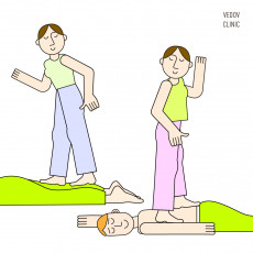 Глубинный массаж ногами