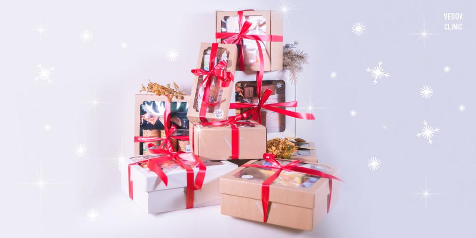 Новогодние подарки с Vedov Clinic