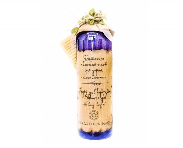 Фитогель увлажняющий для душа с маслом иланг-иланга Ведова