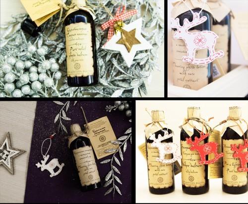 деревянные украшения для подарков
