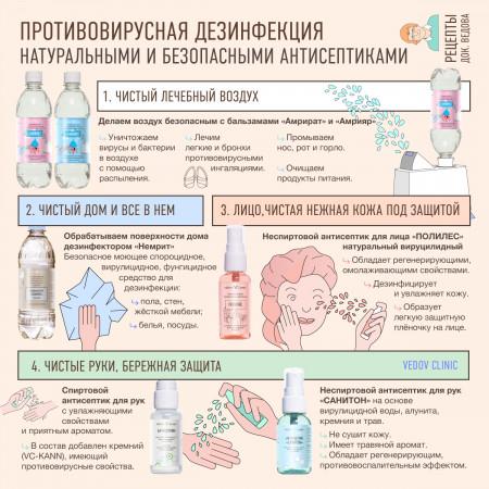 Натуральные дезинфекторы доктора Ведова