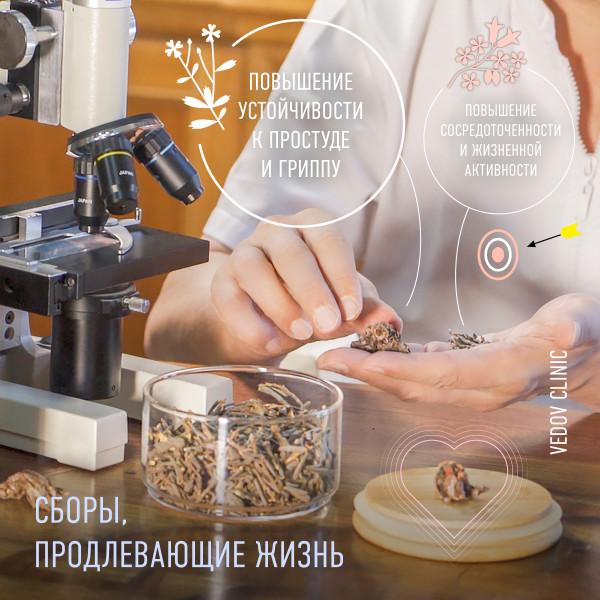 Сборы доктора Ведова для долголетия