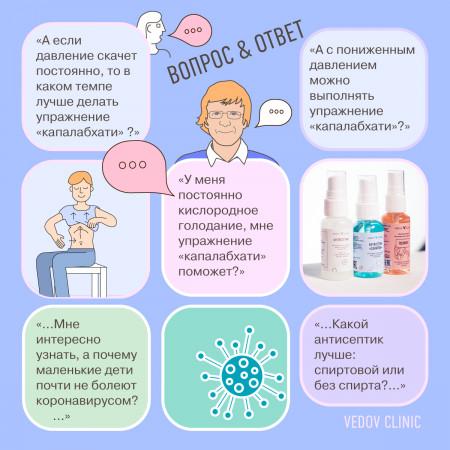 Ответы доктора Ведова на вопросы про дыхание